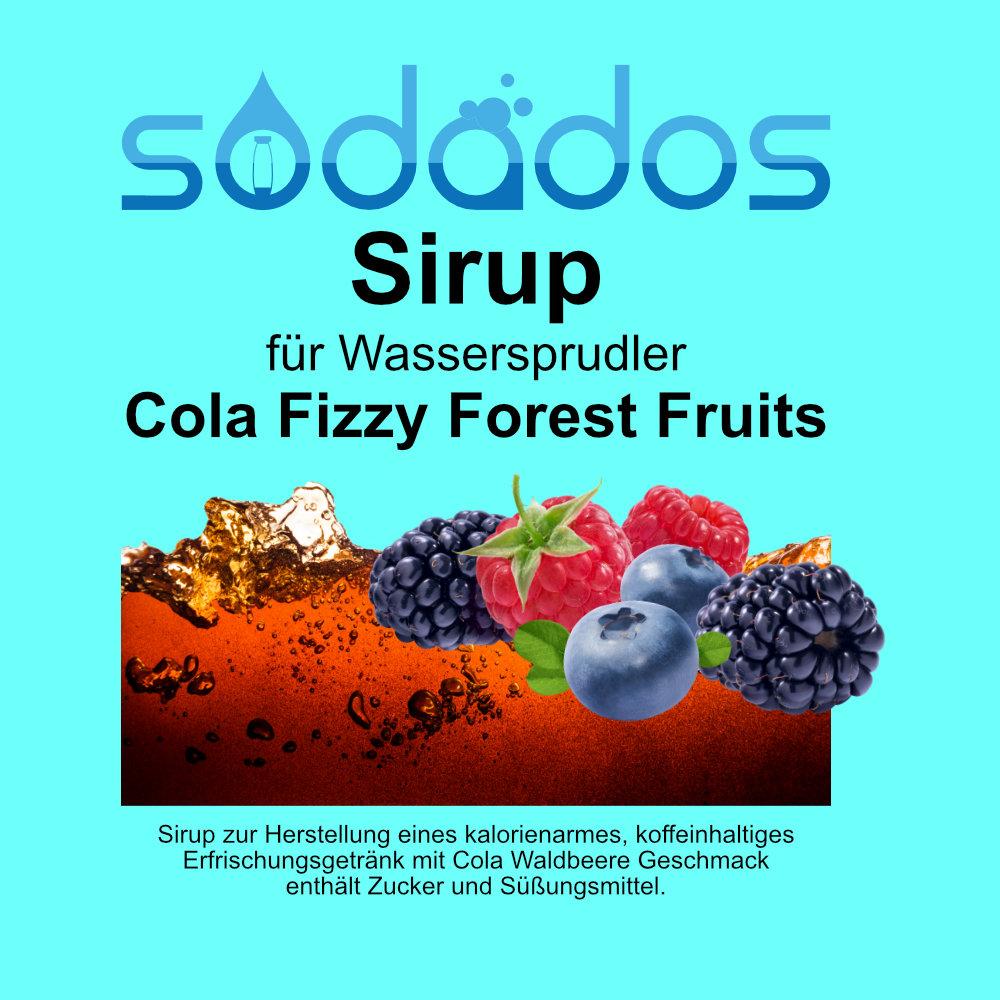 sodados Cola Fizzy Forest Fruits Vorschau